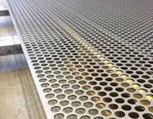 Pure Nickel Alloy Perforated Sheet